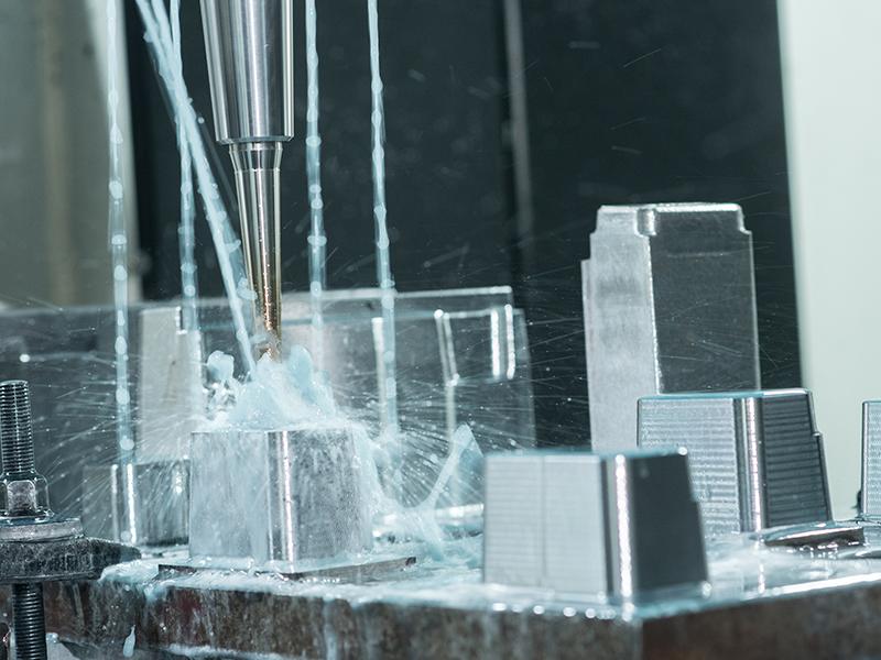 Processo CNC de alta velocidade